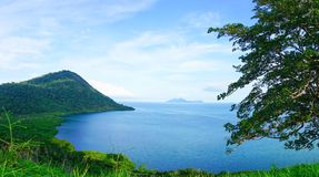 Timbun Mata Island royaltyfri fotografi