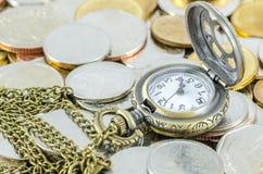 Time är pengar Arkivbilder