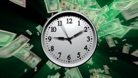 Time är pengar royaltyfri illustrationer