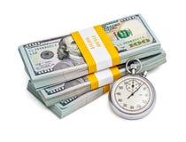 Time är pengar Royaltyfri Bild