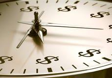 Time är pengar Royaltyfri Foto