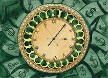 Time är pengar Royaltyfria Foton