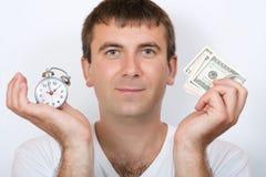 Time är pengar Arkivfoton