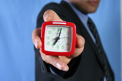 Time. Present time Stock Images