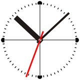 Time. Wall clock Stock Illustration