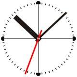 Time. Wall clock Stock Photo