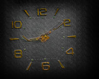 Time 2. Nice grungy abstract clock background Royalty Free Stock Image