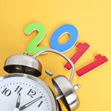 Time for 2011 Royalty Free Stock Photo