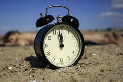 Time. It's time to relax and dream Royalty Free Stock Image