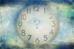 Time. Management concept. passing Royalty Free Stock Image