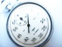 Time. How time flies in our lives stock photo