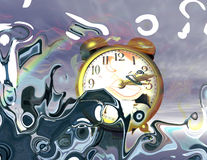 Time. Digital composition / Surrealistic scene / Time Stock Photography