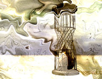 Time. Digital composition / Surrealistic scene / Time Stock Images