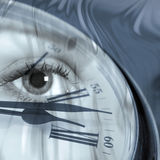 Time abstract Stock Image