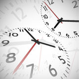 Time abstract background Stock Photos