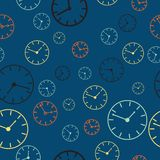 Time abstract vector background illustration Royalty Free Stock Photography