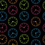 Time abstract vector background illustration Royalty Free Stock Photo