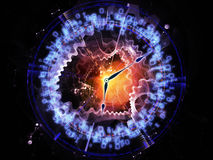 Time abstraction Royalty Free Stock Image