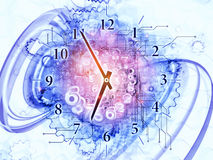 Time abstraction Stock Photography