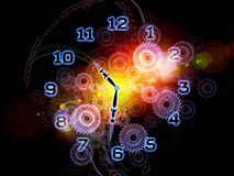 Time abstraction Stock Image