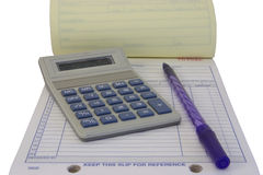 Time For Accounting Royalty Free Stock Images