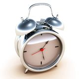 Time alarm clock Royalty Free Stock Images