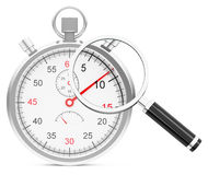 Time analysis Royalty Free Stock Images