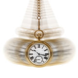 Time And Motion White Stock Photo