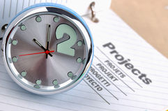 Time And Projects Stock Photo