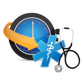 Time for an appointment concept Stock Photo