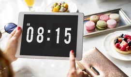 Time Appointment Schedule Punctual Graphic Concept Royalty Free Stock Image