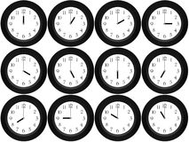 Time around the world Royalty Free Stock Image