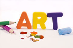 Time for art. Stock Image