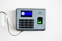 Time Attendance System on the Cloud Royalty Free Stock Photos