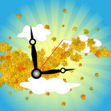Time is for autumn Stock Photos