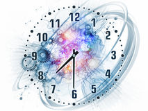 Time backdrop Royalty Free Stock Images