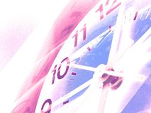 Time background 3. Abstract time background: cold vector illustration