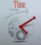 Time Background Royalty Free Stock Image
