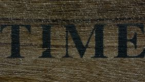 Time background on wood stock photography