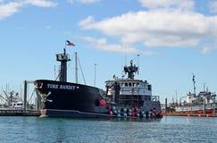 Time Bandit at port in Homer, Alaska