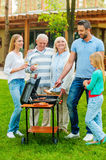 Time for barbeque. Royalty Free Stock Photography