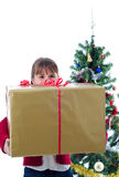 Time for big presents Stock Photos