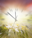 Time blurred Royalty Free Stock Images