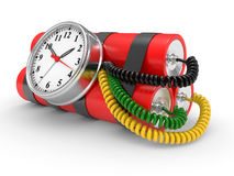 Time bomb Royalty Free Stock Photo