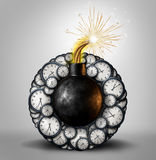 Time Bomb Royalty Free Stock Images