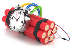 Time bomb Royalty Free Stock Photography