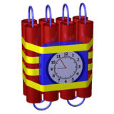 Time bomb Royalty Free Stock Photo