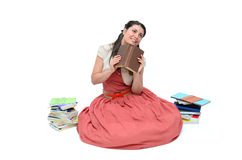 Time for books Royalty Free Stock Photo