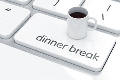 Time break concept Royalty Free Stock Photography