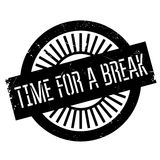 Time for a break stamp Stock Photography